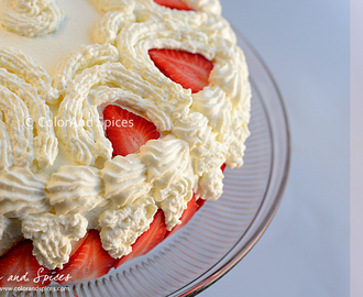 Strawberry cake... birthday special