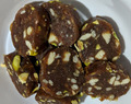 Dates and dry fruits roll