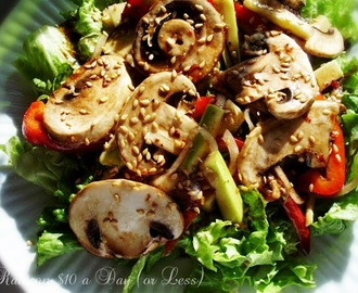 Raw Food Recipes: Marinated Mushroom Salad