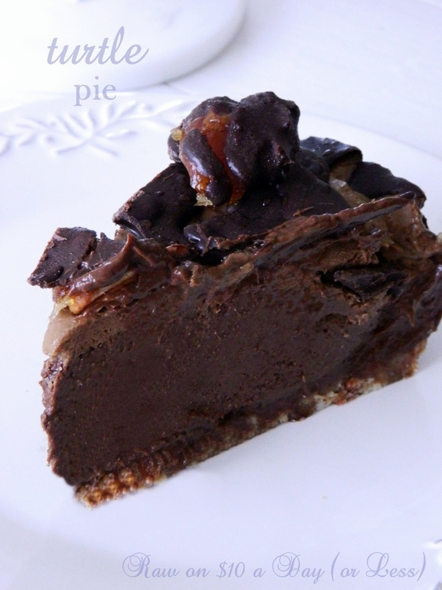 Raw Food Dessert ~ Turtle Pie