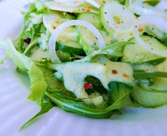 Cucumber Salad ~ a Raw and Vegan Recipe