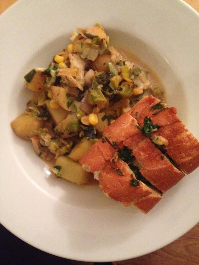 Recipe - Smoked Haddock Chowder