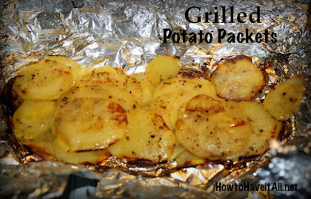 Grilled Potato Packets Recipe