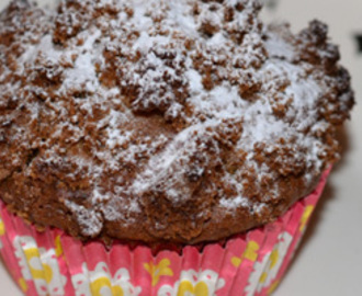 Speculaas crumble cupcakes