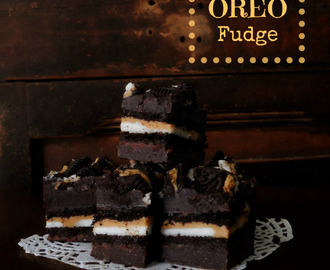 Peanut Butter Oreo Chocolate Fudge