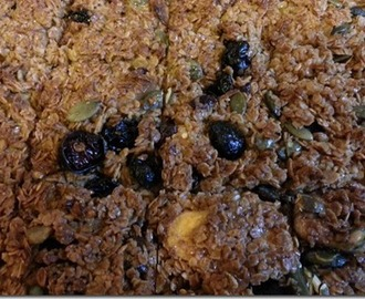 Loaded flapjacks