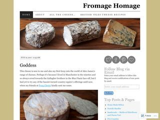 Fromage Homage | A British Cheese Odyssey