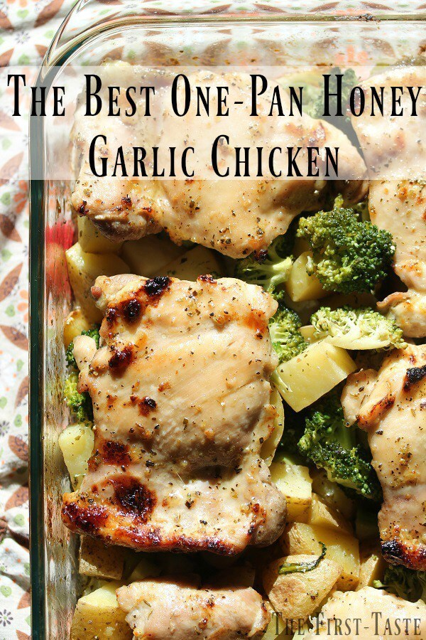 The Best One-Pan Honey Garlic Chicken