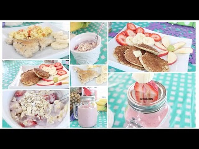Healthy Breakfast Ideas~ Easy, Quick & Tasty! Get Fit for Summer