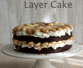 CHOCOLATE BANOFFE LAYER CAKE