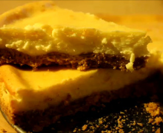 Amerikaanse Cheesecake -NY Style (+video)