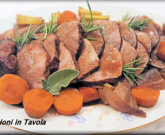Girello di Vitello arrosto in forno