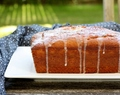 Grapefruit-Poppy Seed Loaf Cake with Yogurt Glaze
