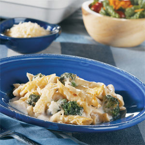 Broccoli and Pasta Bianco