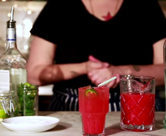 Stay Cool In The Heat With Tequila and Watermelon Summer Time Drink
