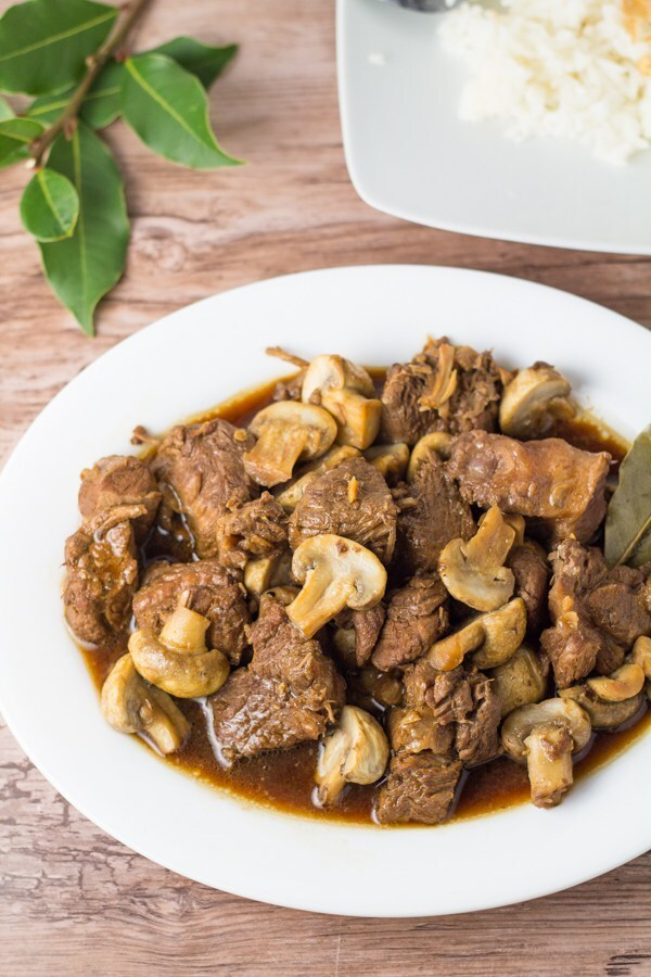 Pork Adobo with Mushroom