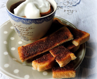 Hot Chocolate & Cinnamon Toast