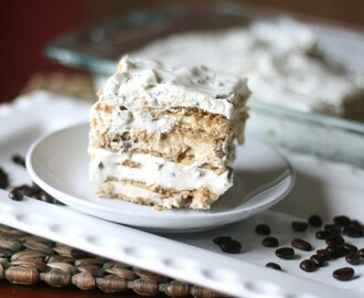 Hazelnut Cheesecake Layered Icebox Cake with Coffe-mate #CMSalutingHeroes