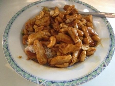 Thai chicken cashewnut (en 100e blogpost!)
