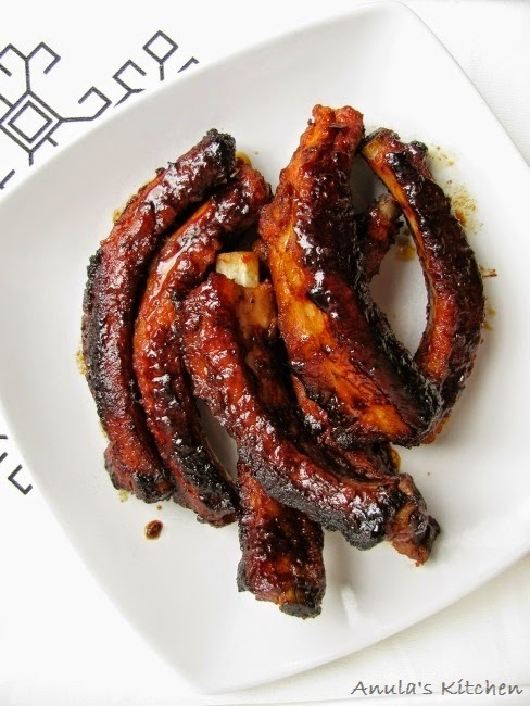 BBQ sticky ribs... the best ever!