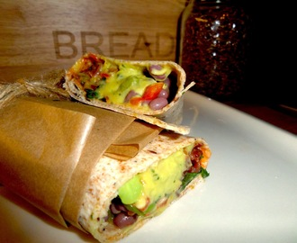 Vegan Recipe of the Week - Summer Sandwiches - Mexican Wrap