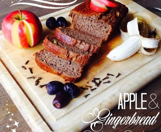 Apple & Gingerbread Spice Cake
