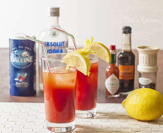 Bloody Mary con y sin alcohol