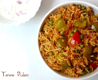 Tawa Pulao Recipe | How to Make Mumbai Style Tawa Pulao