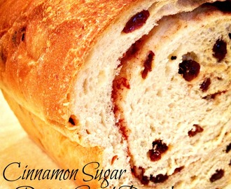 Raisin Cinnamon Sugar Swirl Bread