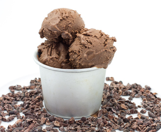 Dark Chocolate Ice Cream