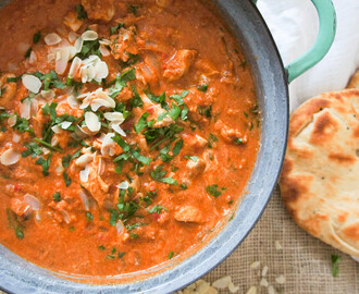 Tikka masala zoals in India