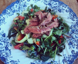 The Lion Moments – Thai Beef Salad