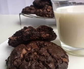 Cookies de doble chocolate de Nigella Lawson