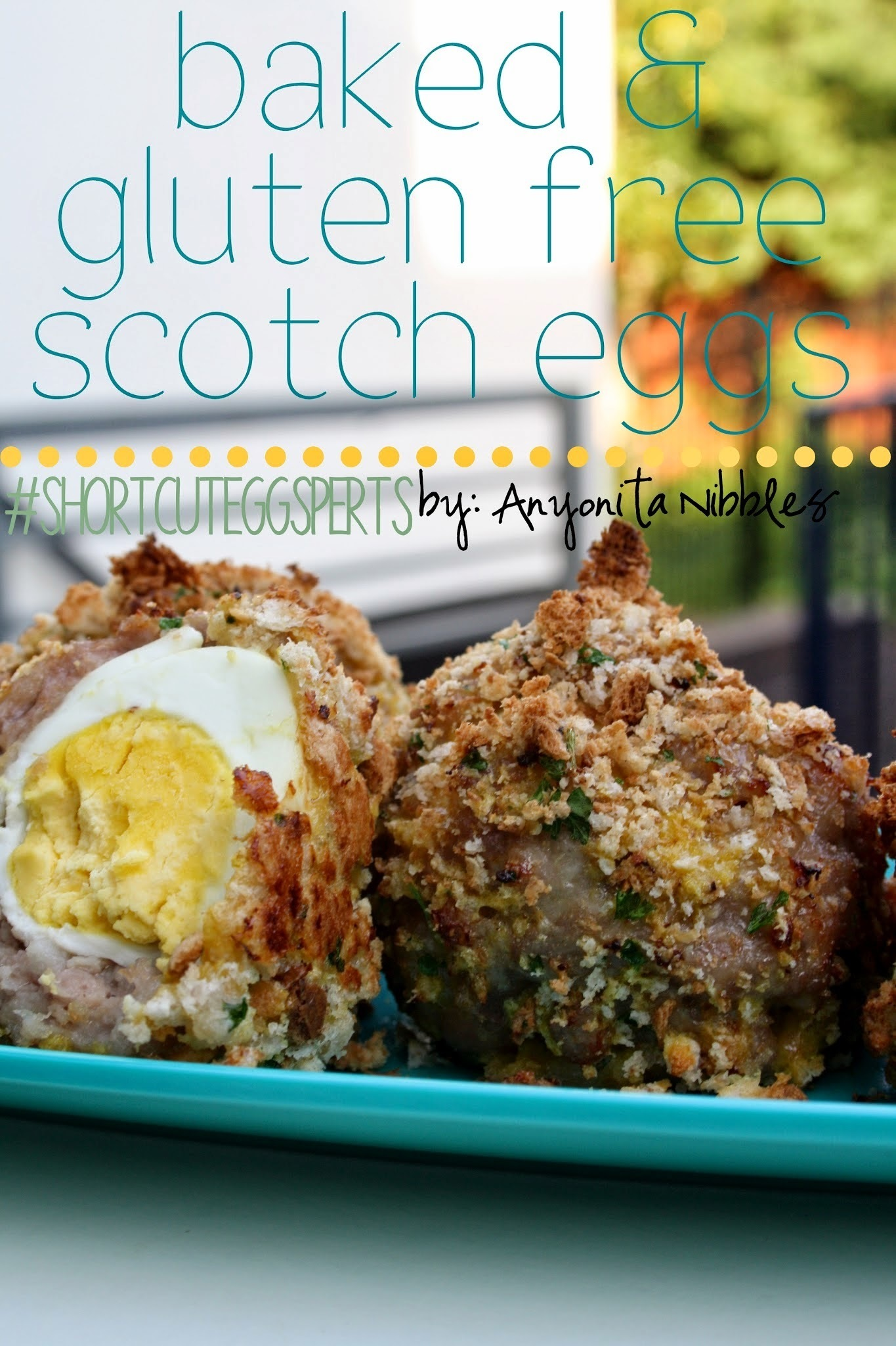 Baked & Gluten Free Scotch Eggs