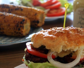 {Blogevent} - Let's go to the Diner - Homemade Burger