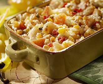 Roasted Corn and Lobster Dip