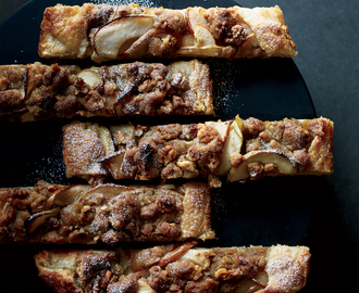 Apple-and-Pear Galette with Walnut Streusel