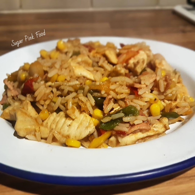 Chicken & Bacon Dirty Rice | Slimming World