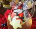 Red White & Blue Virgin White Sangria
