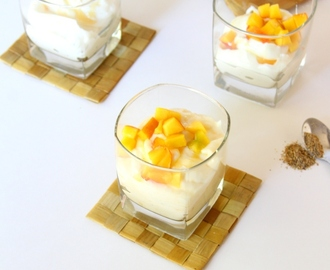 Shrikhand (Indian Sweetened Hung Curd/Yogurt Dessert)
