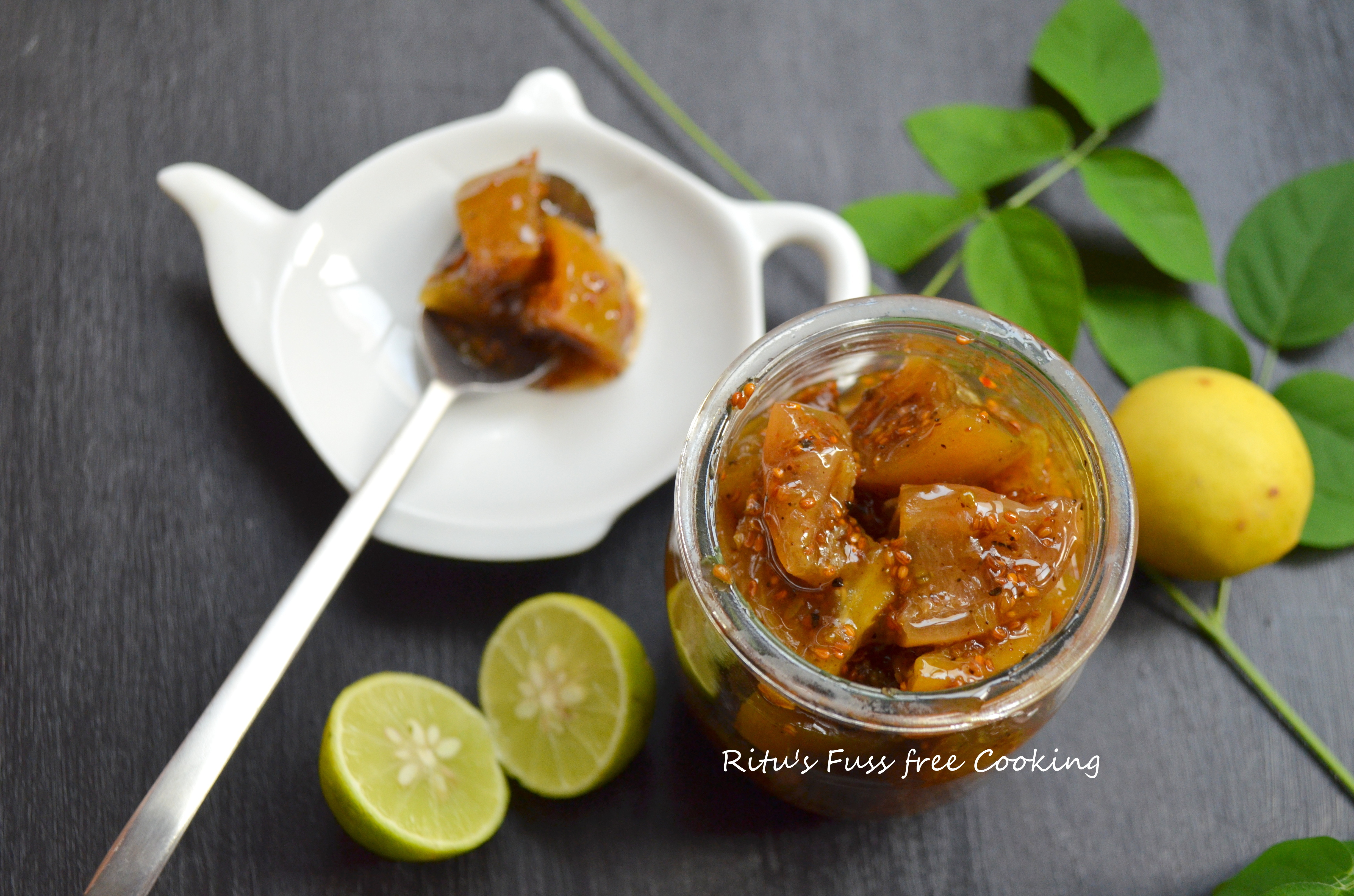 LIME PICKLE: SWEET AND TANGY