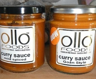 Ollo Foods Goan Style Curry Sauce review
