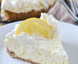 Low Carb Lemon Cheesecake