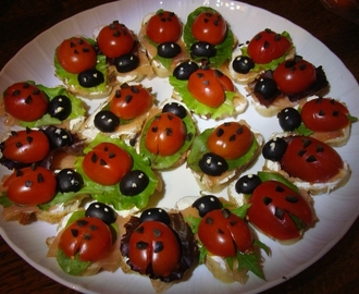 COCCINELLES APERITIVES