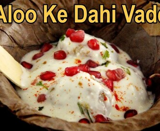 Aloo ke Dahi vada | Potato Dahi vada | Navratri Recipes | Fasting Recipes