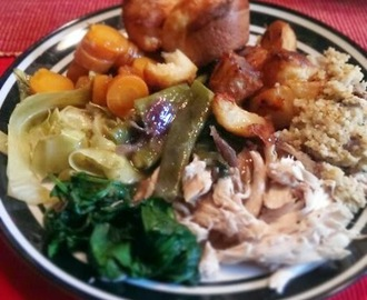 Recipe: Slimming World Sunday Roast Dinner - 2 Syns!!!