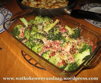 Recept: Gegratineerde Broccoli