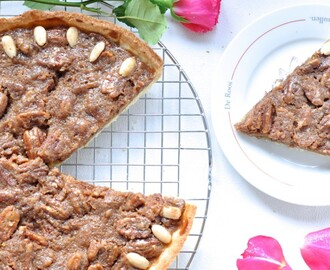 Pecan pie met Maple syrup