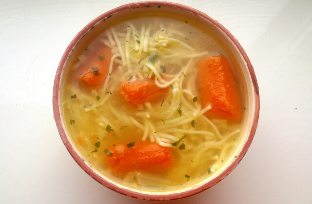 Chicken and Soup