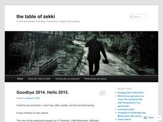 The Table of Zekki